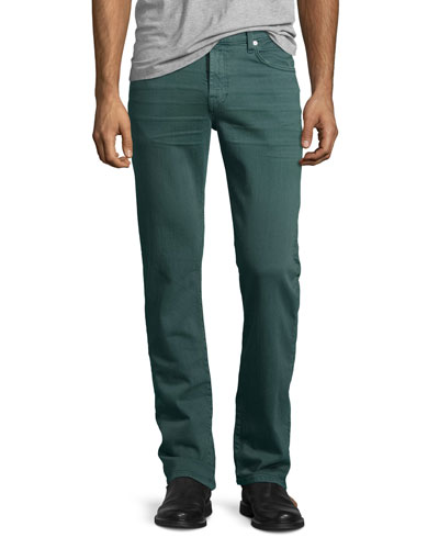 Luxe Performance: Slimmy Moss Jeans