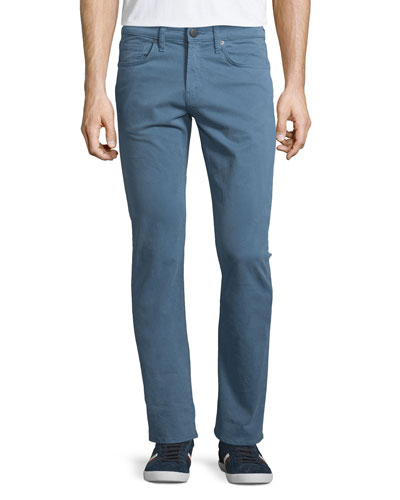 Kane French Blue Twill Jeans, Blue