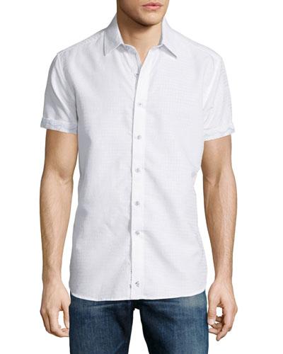 Santa Catalina Short-Sleeve Shirt, White