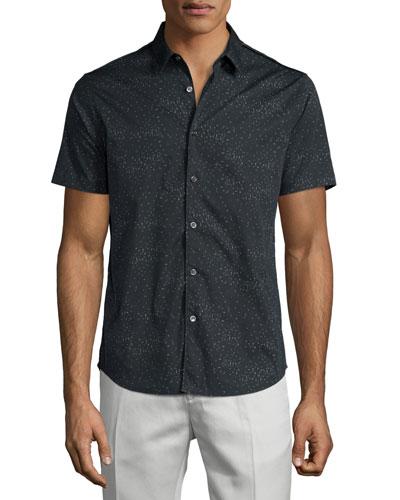 Benner Printed Short-Sleeve Shirt, Eclipse Multi