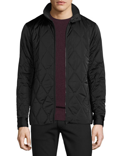 Berli Quilted Jacket, Black