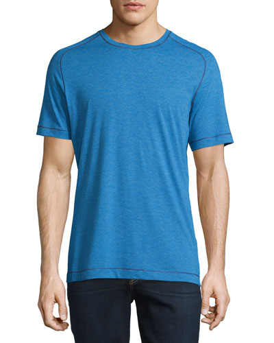 Flagstaff Striped Short-Sleeve T-Shirt, Blue