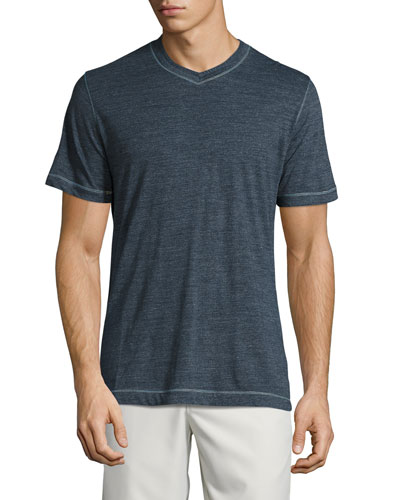 Traveler V-Neck T-Shirt, Dark Blue