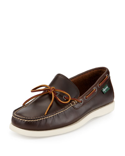 Yarmouth 1955 One-Eye Camp Moc Slip-On Shoe, Brown
