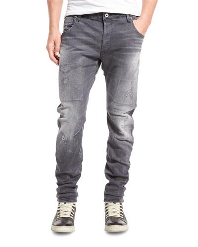 Arc 3D Slim Jeans, Medium Aged Restored 92
