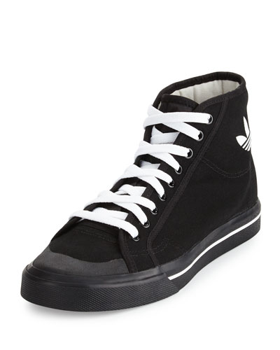 Matrix Spirit Men's High-Top Sneaker, Black/White