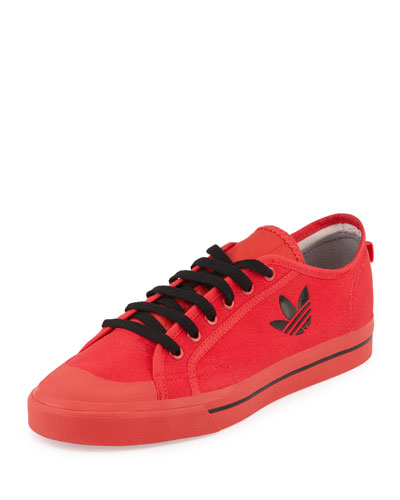 Matrix Spirit Men's Low-Top Sneaker, Red/Black