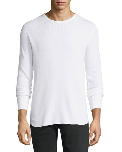 Standard Issue Thermal T-Shirt, Bright White