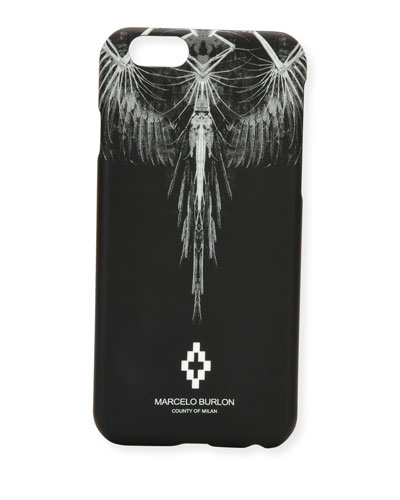 Antofalla Feather iPhone 6 Case, Black
