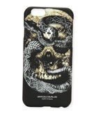 Bayo Skull & Snake iPhone® 6 Case, Black