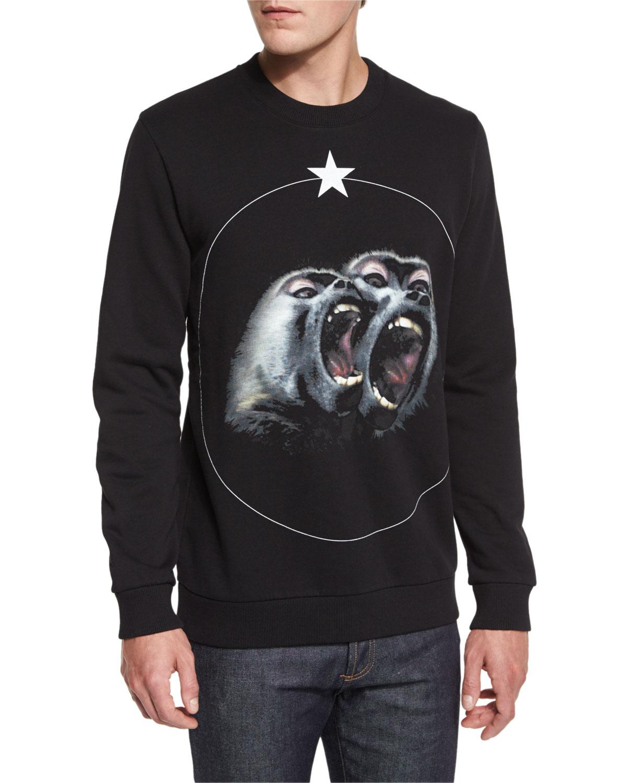 Monkey Brothers Sweatshirt, Black