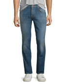 Grim Tim Douglas Replica Slim Jeans, Blue