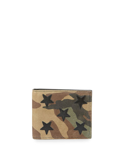 Rider California Camouflage Star East-West Wallet