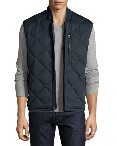 Systems Quilted Vest, Ink
