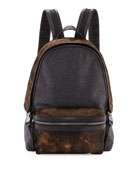 New Romeo Calf Hair & Wool-Blend Backpack