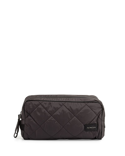 Quilted Travel Toiletry Kit