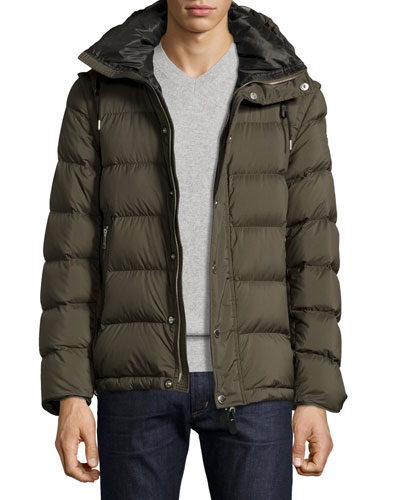 Basford 2-in-1 Puffer Jacket, Olive