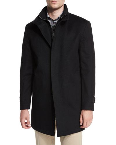 Old Sebastian Storm System® Car Coat, Black