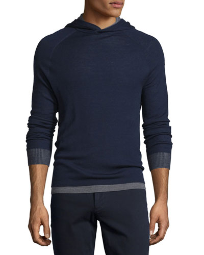 Double-Layer Pullover Hoodie, Coastal