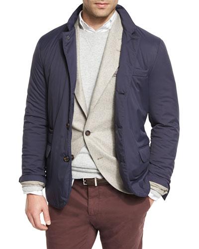 Nylon Padded Sport Jacket
