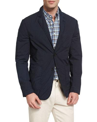 Chino Sport Coat, Navy