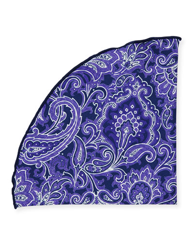 Two-Sided Printed Pocket Circle, Purple