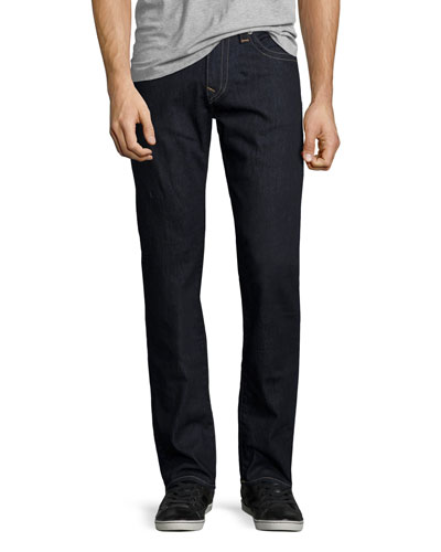 Geno Straight-Leg Denim Jeans, 2S Body Rinse