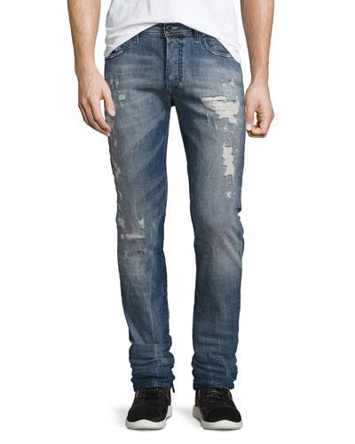 Tepphar 856X Denim Jeans, Blue