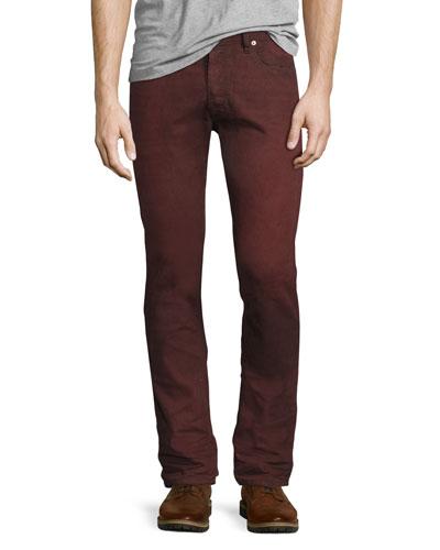 Tepphar 858X Denim Jeans, Red