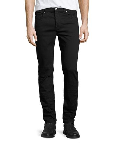 Strummer Skinny Jeans, Darkest Black