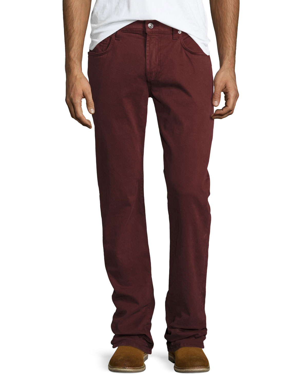 Men's Luxe Performance: Slimmy Chianti Jeans