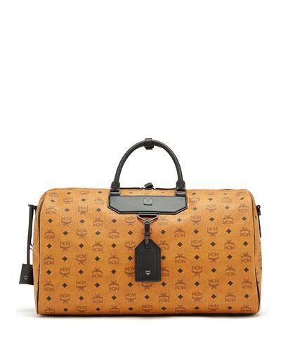 Nomad Coated Canvas Weekender Bag, Cognac