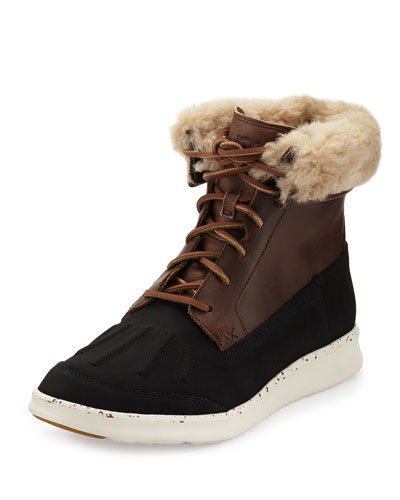 Men's Roskoe Duck Boot, Dark Chestnut