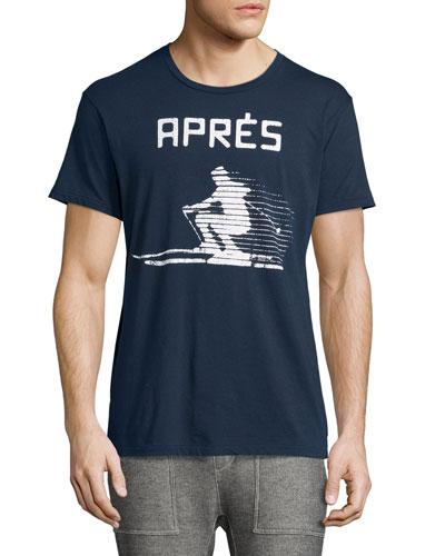 Après Ski T-Shirt, Navy