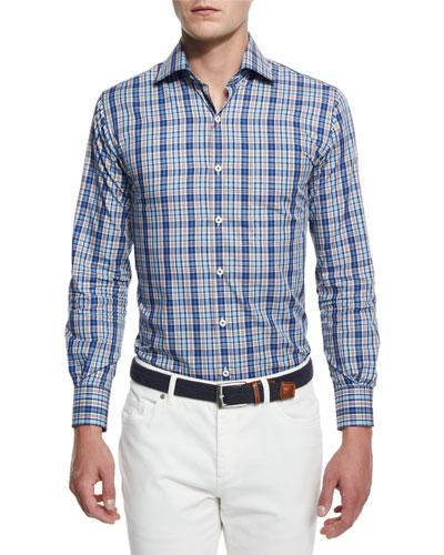 Mackinaw Tartan Long-Sleeve Sport Shirt