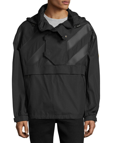 Donville Wind-Resistant Jacket, Black