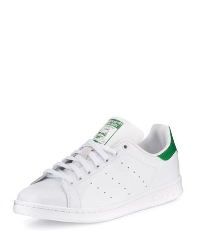 Men's Stan Smith Original Sneaker, White/Green