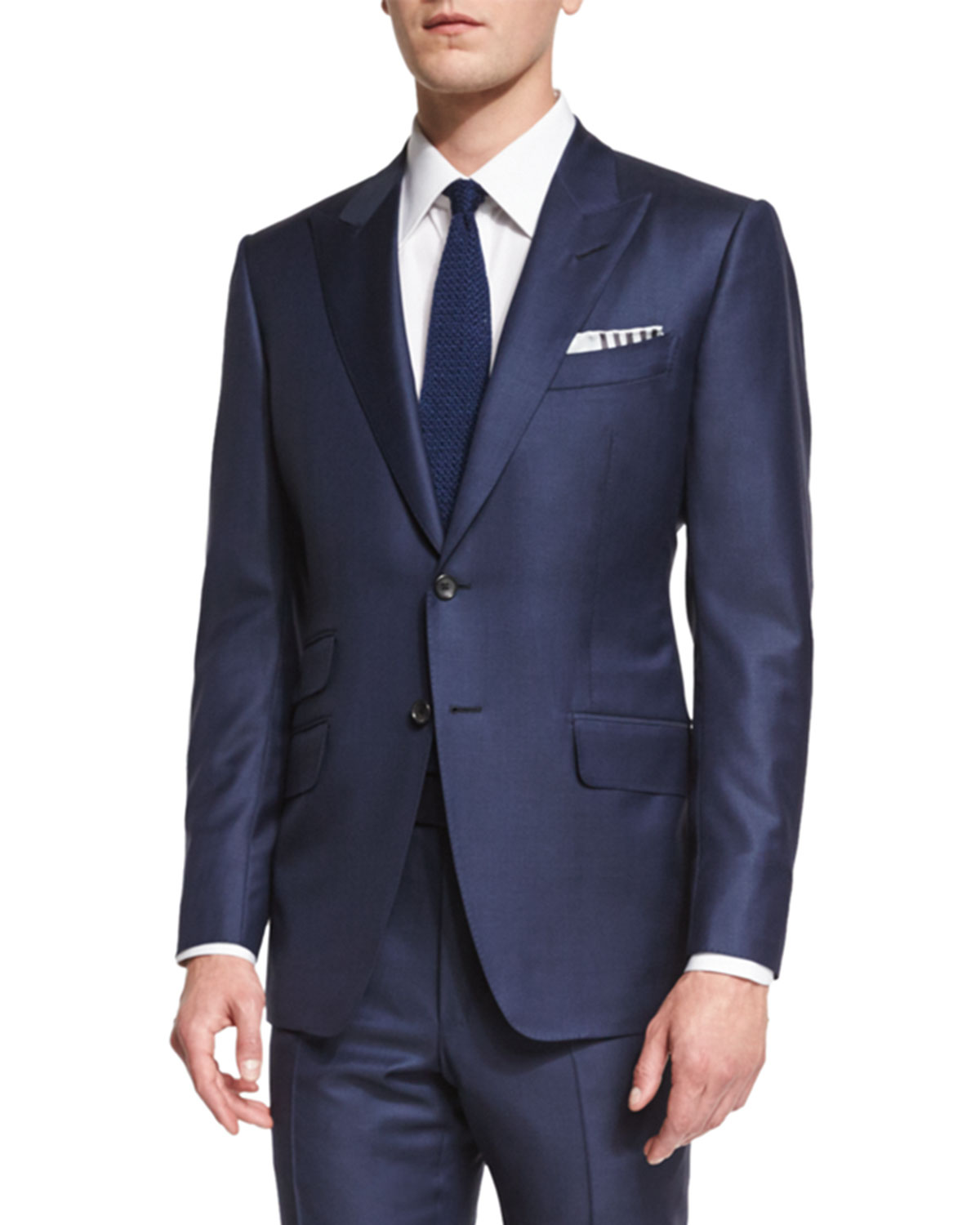 O'Connor Base Sharkskin Two-Piece Suit