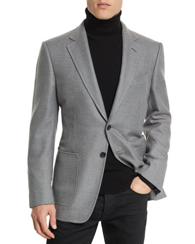O'Connor Base Twill Sport Jacket, Gray