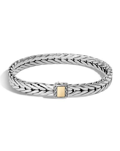 Men's Classic Chain Small Rectangle Bracelet