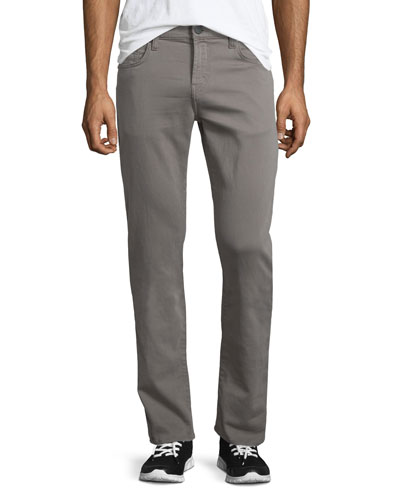 Kane French Terry Straight-Leg Jeans