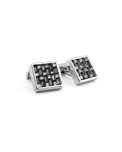 Interlocking Square Cufflinks