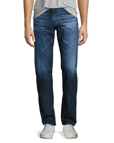 Graduate 11-Year Grand Tank Denim Jeans, Medium Blue