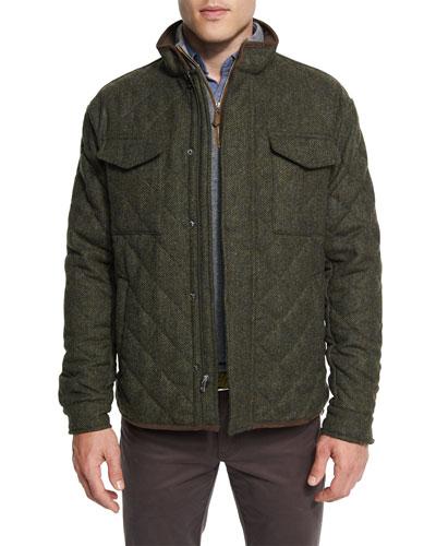 Milburn Shetland Quilted Shirt Jacket