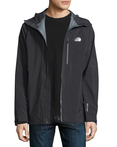Dihedral Nylon Shell Jacket, Black