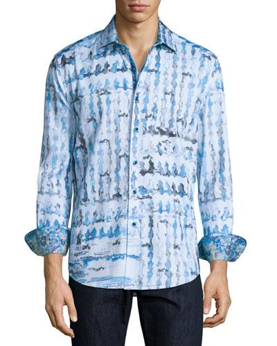 Shallow Ponds Long-Sleeve Sport Shirt