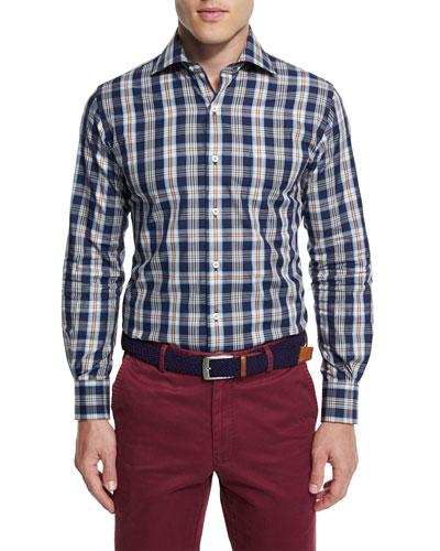 Teton Plaid Long-Sleeve Sport Shirt