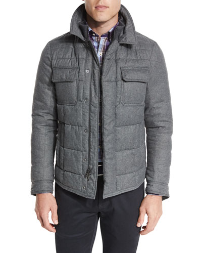 Kent Quilted Flannel Jacket