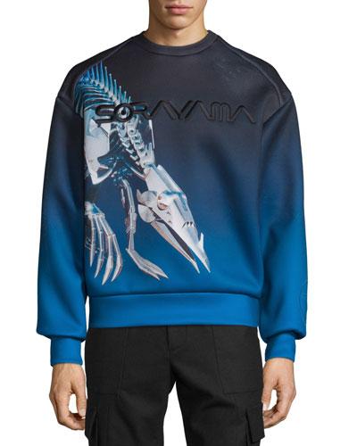 Sorayama Hajime Robot Dinosaur Sweatshirt