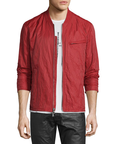 Lightweight Bomber Jacket, Red